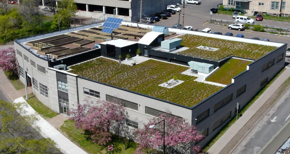 Green Roof - Motor Pool - St. Louis County