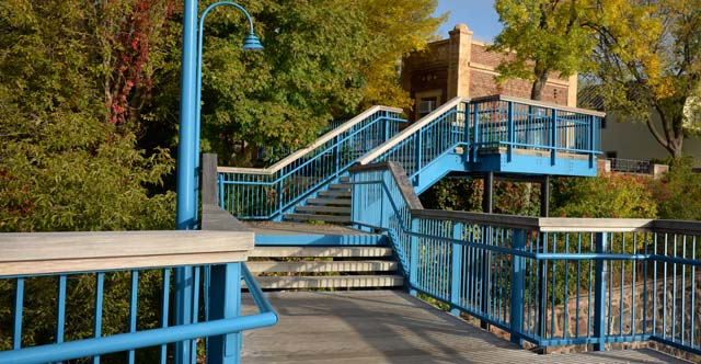 Lakewalk Bridge & Stairs - City of Duluth